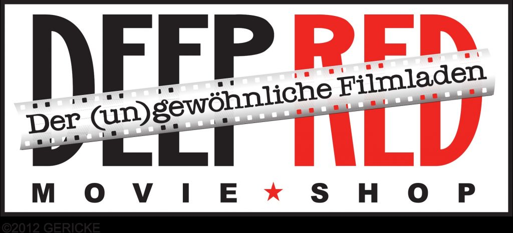 Deep Red Movie Shop Logo